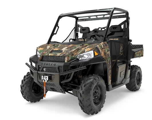 first in Belgium: polaris Ranger Stage 1